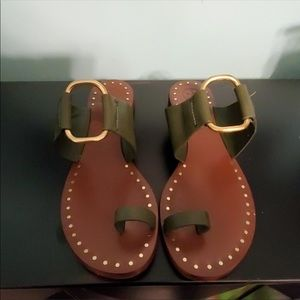 Tory Burch sandals excellent preowned condition